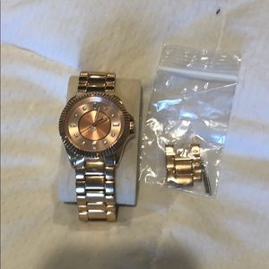 Rose Gold Juicy watch